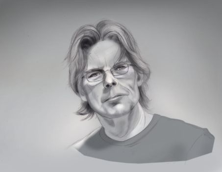 Stephen King by Rohit-Sawant