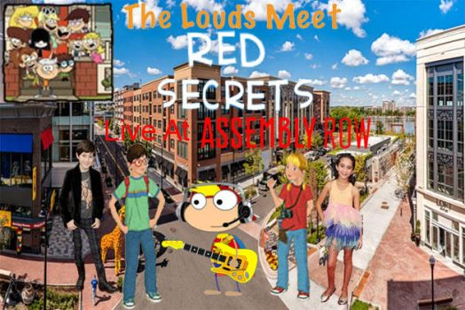 The Louds Meet Red Secrets Live At Assembly Row by JackandAnnie180