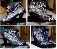 Altheart Custom Boots 1 full by exbrainpo