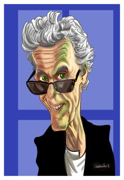 12th Doctor by Derveniotis