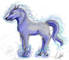 wolfie finished by Taffy-art