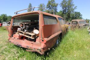 Pink Rambler wagon by finhead4ever
