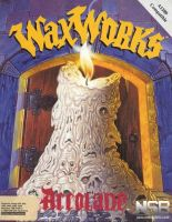Waxworks Front Cover by derrickthebarbaric