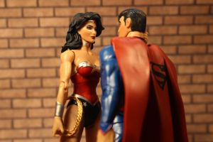 Superman and Wonder Woman? by GhostLord89