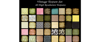 Vintage Texture Set by chupla