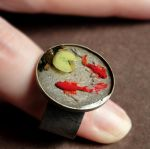 Koi Pond Ring by fairchildart