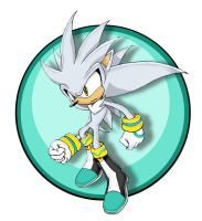 silver the hedgehog by shamcy