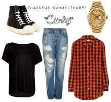 Curly/Thaddeus Gammelthorpe - Polyvore by Sweetly-Poisoned