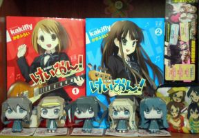 K-on! Papercrafts by drawwithme15