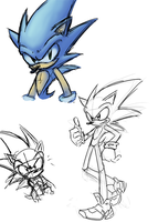 Sonic Alpha Doodle by OyOy
