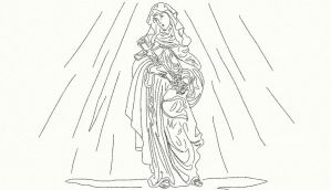 St. Therese sketch by anelphia