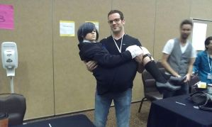 J. Michael Tatum and Ciel by Cartoonsforever