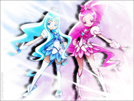 Heart Catch PreCure Wallpaper by LoveSunshinex3