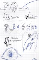 Losting pictures: Practise by Dino-drawer
