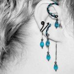 Indicolite ear wrap and cuff v16 by YouniquelyChic