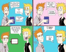 Classix: Tre's College EXP by GreenDayComix