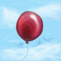 Red Balloon by Pink-Shimmer