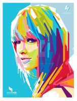 .: Taylor Swift Collaboration WPAP :. by gilar666