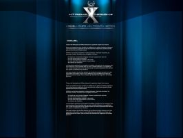 Template folio xtreme design by alex-xs