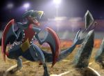 Mega Garchomp used Stone Edge! by Daniel-DnA