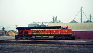 BNSF 6412 by SMT-Images