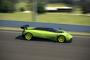 Pagani Hyrura In Action by Racefan2464