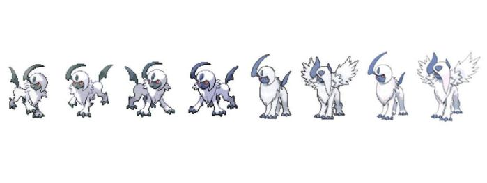 Absol Timeline by chigger3