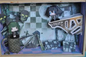 Black Rock Shooter's world by ChikoxChan