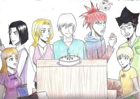 Bleach September Birthdays by BloodKaika