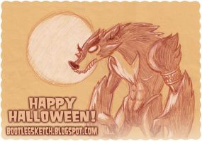 Wolf Down All Your Candy by jasonhohoho