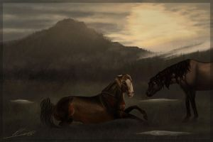 CW | Arturo | Olde Herd | First aftermath of war by Katha88