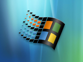 Windows Logo Wallpaper by xunilmac