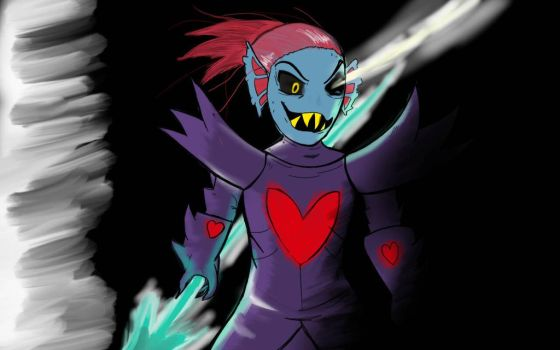 Undyne The Undying by CrimsonLucario404
