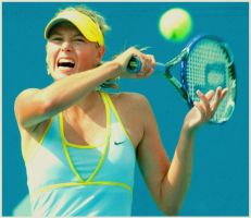 Maria Sharapova_USO3 by leftysrock