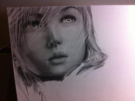 Lightning Final Fantasy XIII WIP 2 by Tifta