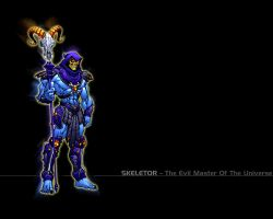Dark Skeletor by minus-blindfold
