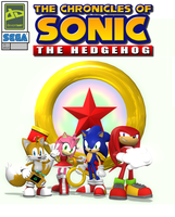 The Chronicles of Sonic the Hedgehog Premier Cover by Nictrain123
