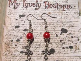 red cross by TheLovelyBoutique
