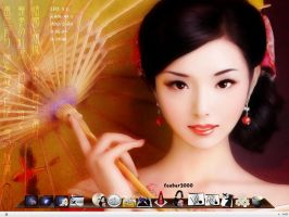 Asia Desktop by ixdvc