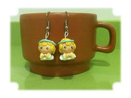 Little angels earrings by anapeig