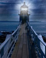 Light House Background FGM by FairieGoodMother