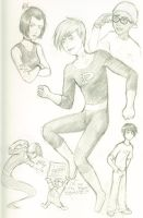 Danny Phantom Sketchdump by HapaAve