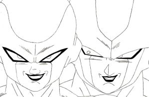 Frieza And Cooler by sparten69r