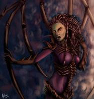 Queen of the Swarm by Aakami