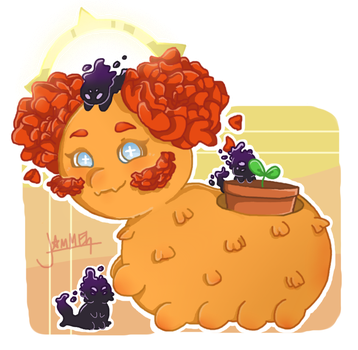 Mama Marigold by jamie23drawer