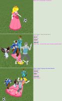 Peach in: A Friendly Game of Soccer Part 1 by DepthDropper