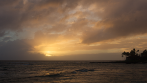 Kauai Sunset by pesterle