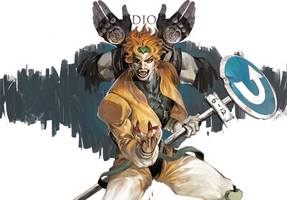 DIO for Shanghai 1019 by White-corner