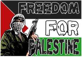 Freedom for palestine 2 by artstuck