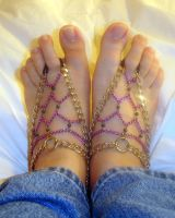 More Barefoot Sandals by Barefoot-Panda